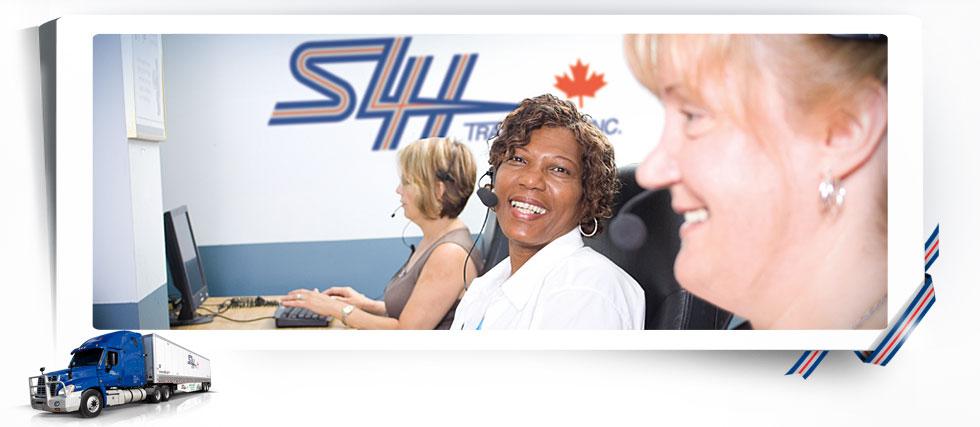 Terminal SLH Transport de la Ville de Québec, au Québec.