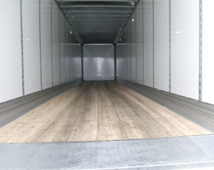 SLH Transport truck trailer interior