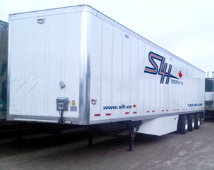 SLH Transport tridem 53' trailers